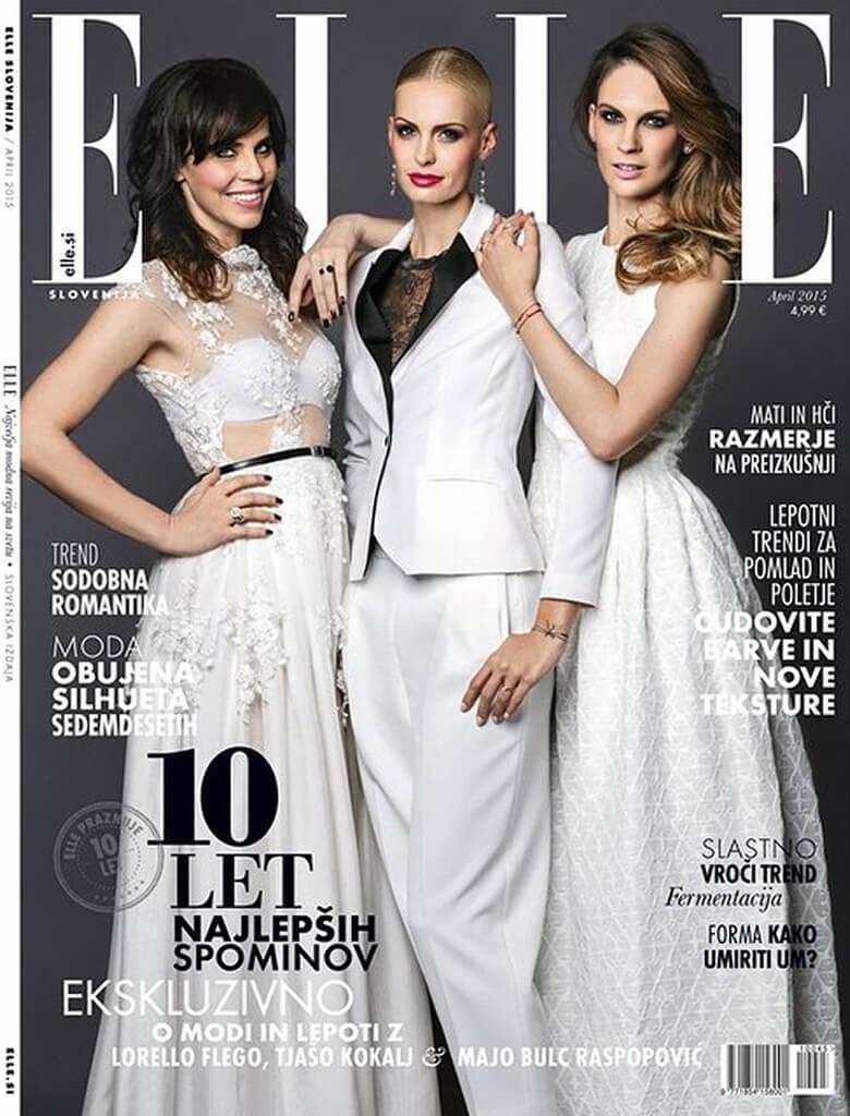 Naslovnica revije ELLE